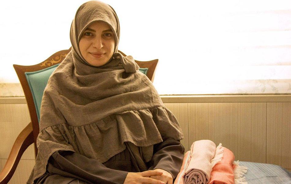 لیلا منصوری، موسس کسب و کار خراشاد توباف
