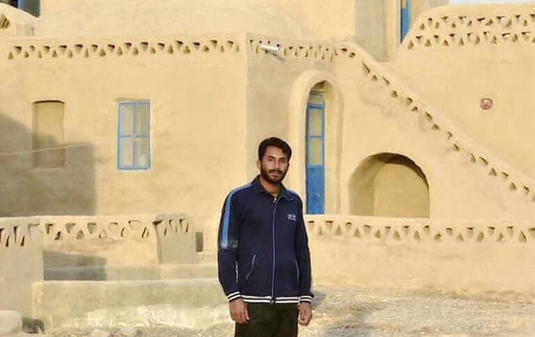ماشاالله باراج، بینانگذار اقامتگاه بوم گردی رستم زادگان سیستان